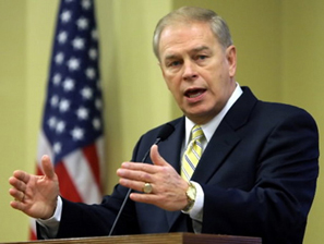 Governor Strickland:  Are his ideas are not big enough?